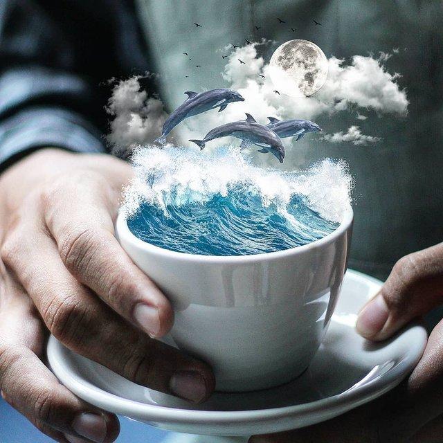 Неймовірний світ у роботах Джастіна Майна: ефектні фото - фото 295467