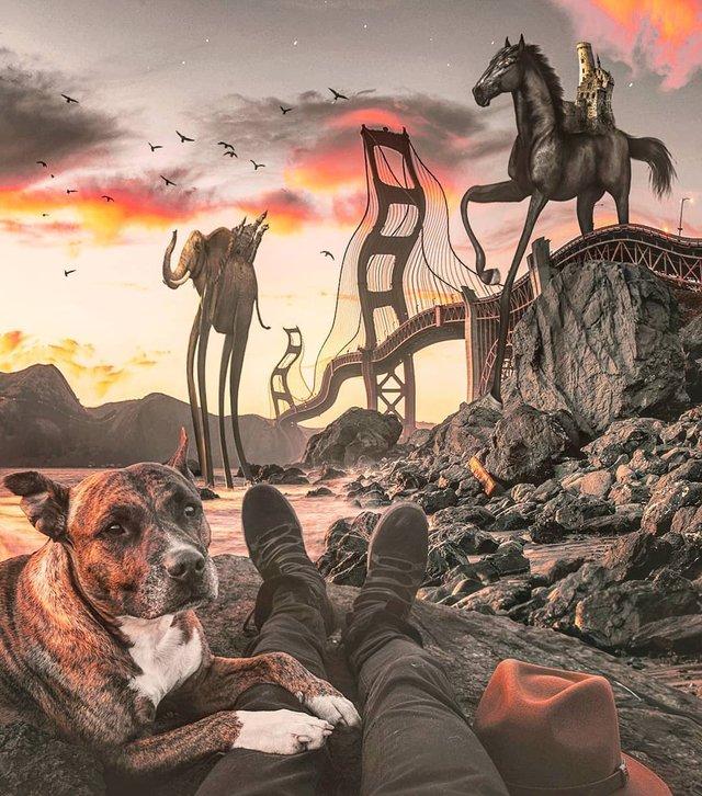 Неймовірний світ у роботах Джастіна Майна: ефектні фото - фото 295469