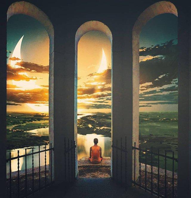 Неймовірний світ у роботах Джастіна Майна: ефектні фото - фото 295474