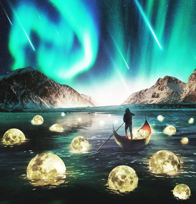 Неймовірний світ у роботах Джастіна Майна: ефектні фото - фото 295476