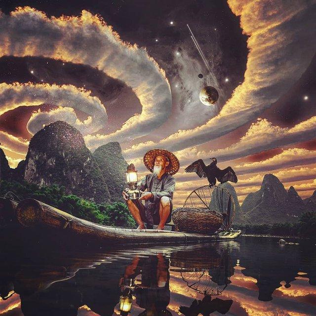 Неймовірний світ у роботах Джастіна Майна: ефектні фото - фото 295477