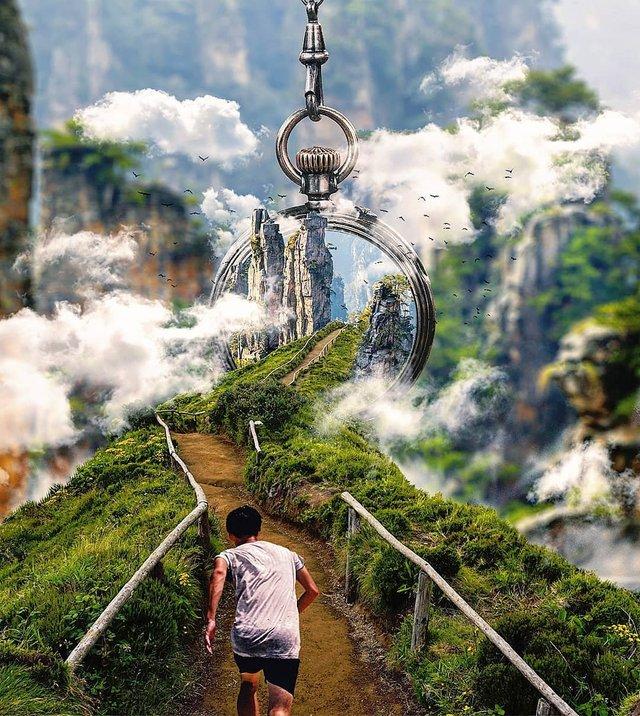 Неймовірний світ у роботах Джастіна Майна: ефектні фото - фото 295480
