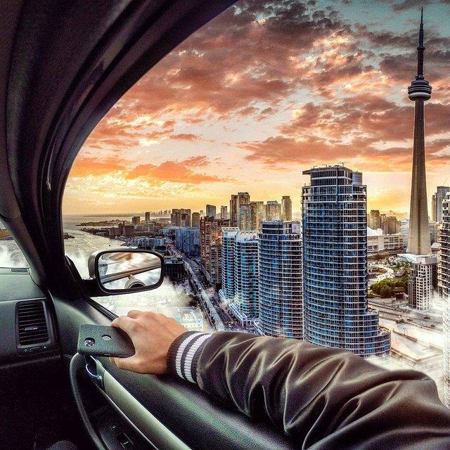 Неймовірний світ у роботах Джастіна Майна: ефектні фото - фото 295481