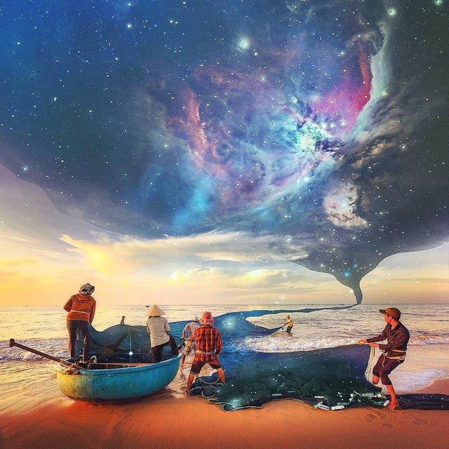 Неймовірний світ у роботах Джастіна Майна: ефектні фото - фото 295482