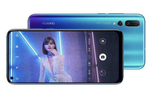 Смартфон Huawei nova 4 - фото 295622