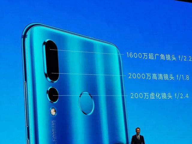 Смартфон Huawei nova 4 - фото 295625