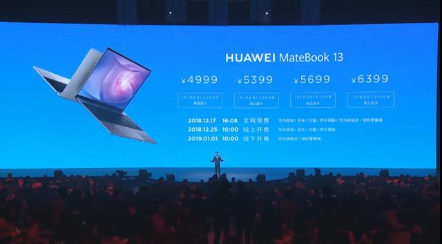Huawei представив ноутбук MateBook 13 - фото 295713