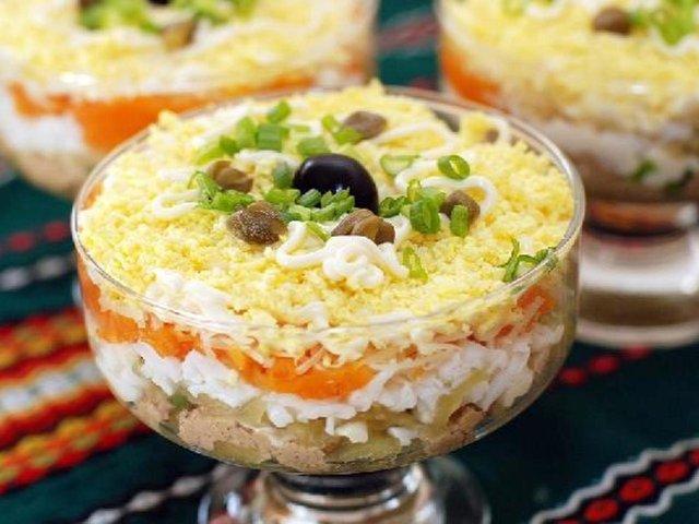 Рецепти новорічних салатів  - фото 295784