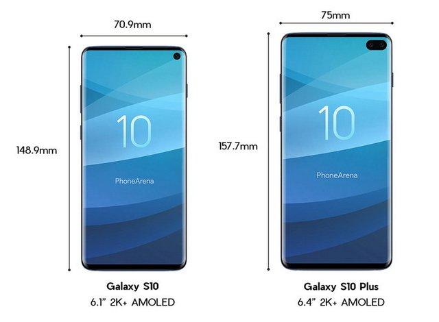 Samsung Galaxy S10 - фото 295792