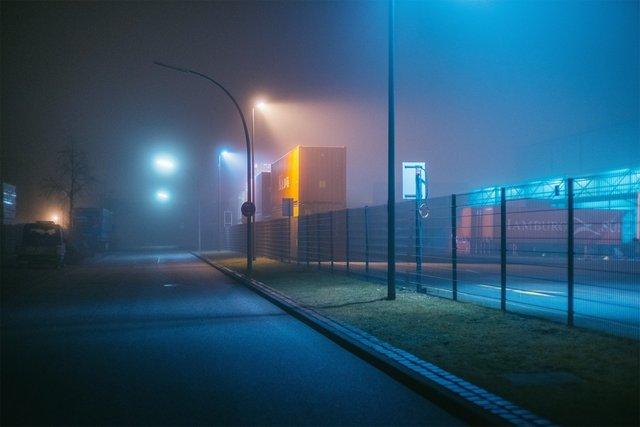 Ранковий Гамбург крізь туман: захопливі фото - фото 295978
