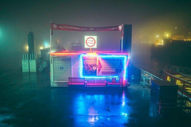 Ранковий Гамбург крізь туман: захопливі фото - фото 295984