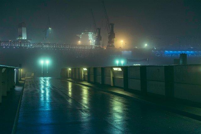 Ранковий Гамбург крізь туман: захопливі фото - фото 295986