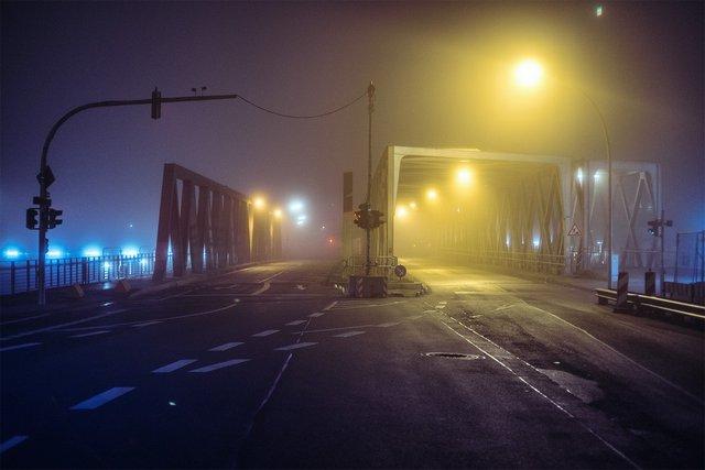Ранковий Гамбург крізь туман: захопливі фото - фото 295988