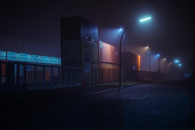 Ранковий Гамбург крізь туман: захопливі фото - фото 295995