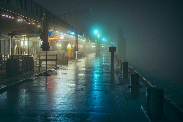 Ранковий Гамбург крізь туман: захопливі фото - фото 295996