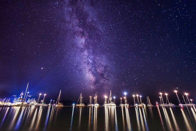 Неймовірні фото Чумацького шляху у небі над Хорватією - фото 296034