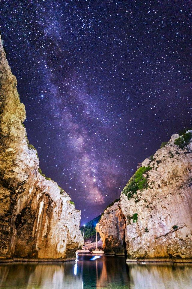 Неймовірні фото Чумацького шляху у небі над Хорватією - фото 296038