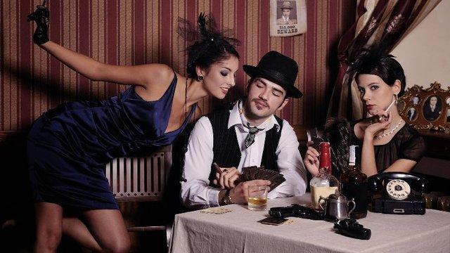 Новорічна вечірка у стилі мафії Чикаго - фото 296070