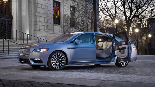 Lincoln Continental 80th Anniversary Coach Door Edition - фото 296217