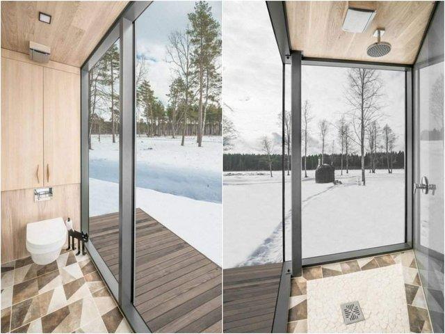 Роздивитися цей дзеркальний будинок дуже непросто - фото 296269