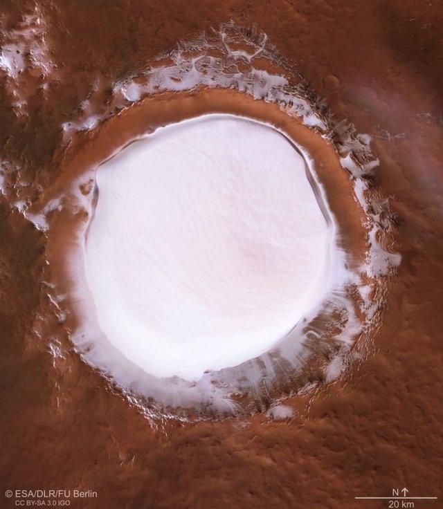 'Снігове озеро' на Марсі - фото 296609