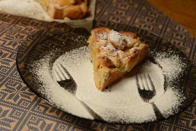 Пиріг з хурми на свята - фото 296715