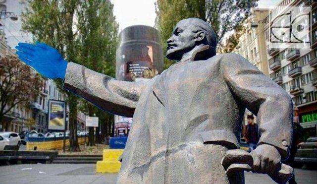 Синя рука у Києві - фото 296767