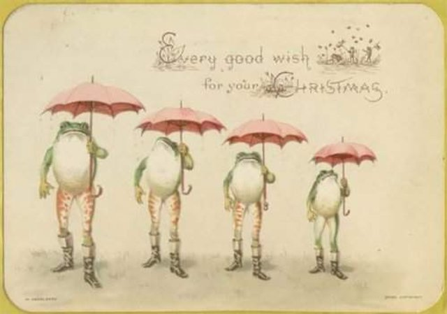 Так виглядали різдвяні листівки у Вікторіанську епоху - фото 296818
