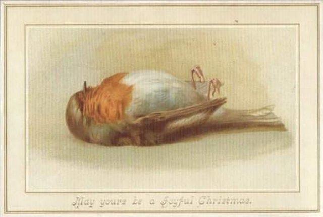 Так виглядали різдвяні листівки у Вікторіанську епоху - фото 296829