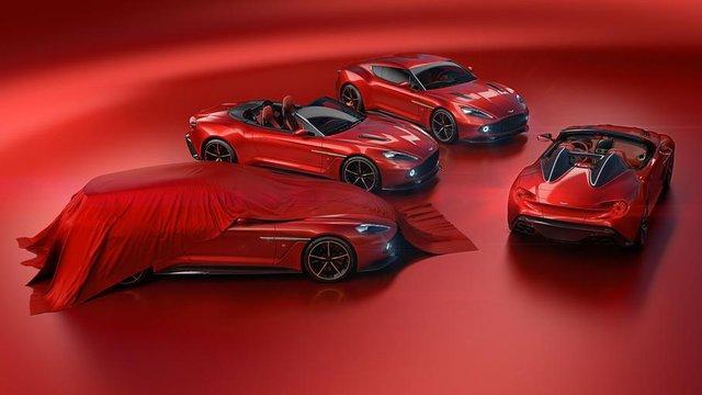 Aston Martin і Zagato показали 4 нові автівки - фото 296892