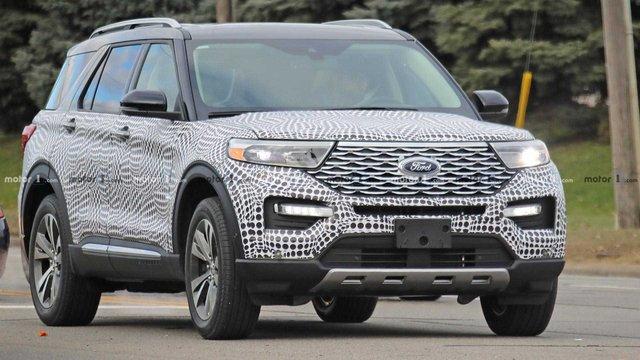 Новий Ford Explorer покажуть 9 січня 2019 року - фото 296927