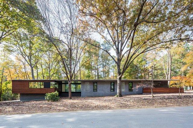 Ідеальний дім для інтровертів посеред лісу: яскраві фото - фото 297227