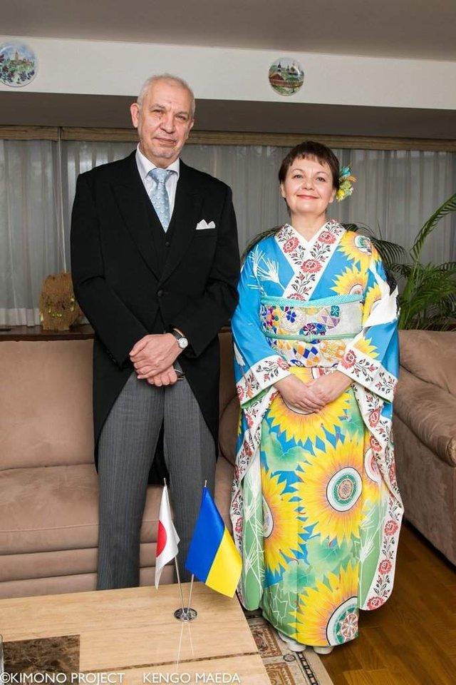 В Японії створили кімоно в українському стилі - фото 297376