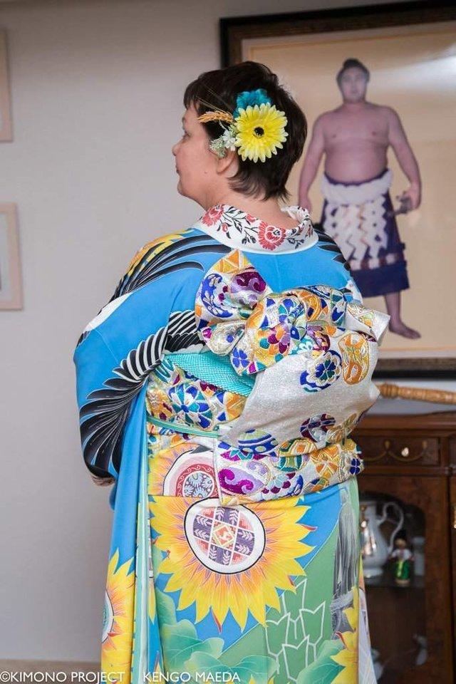 В Японії створили кімоно в українському стилі - фото 297377