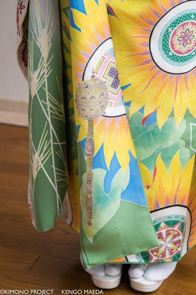 В Японії створили кімоно в українському стилі - фото 297379
