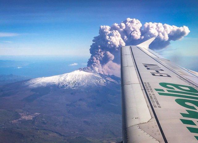 Виверження вулкану Ента - фото 297552