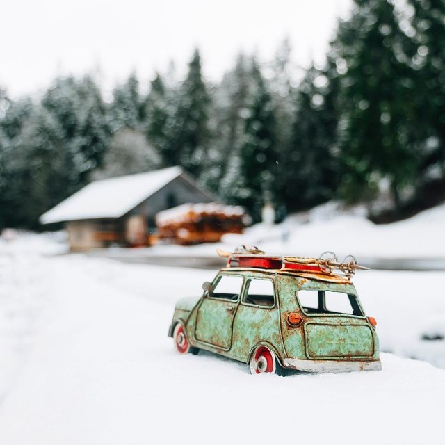 Мініатюрні авто у захопливих фото Кім Леенбергер - фото 297574