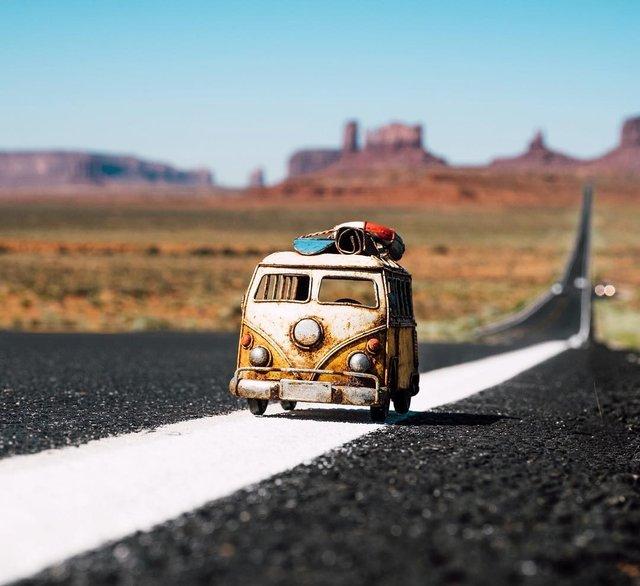 Мініатюрні авто у захопливих фото Кім Леенбергер - фото 297576