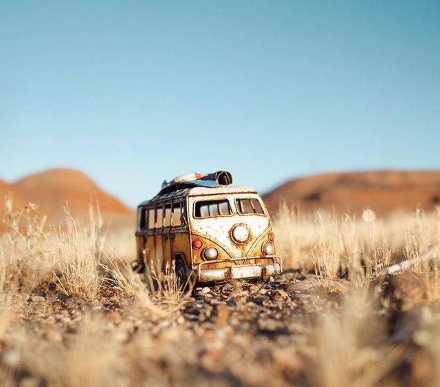 Мініатюрні авто у захопливих фото Кім Леенбергер - фото 297577