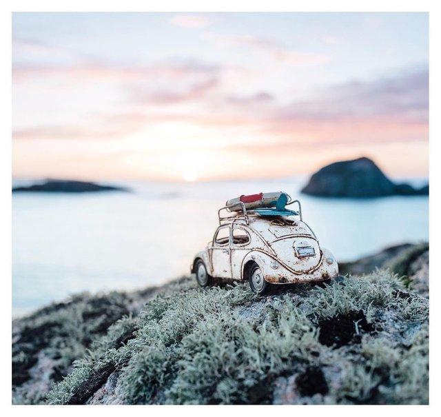 Мініатюрні авто у захопливих фото Кім Леенбергер - фото 297579