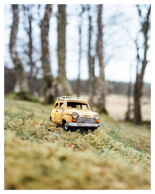 Мініатюрні авто у захопливих фото Кім Леенбергер - фото 297581