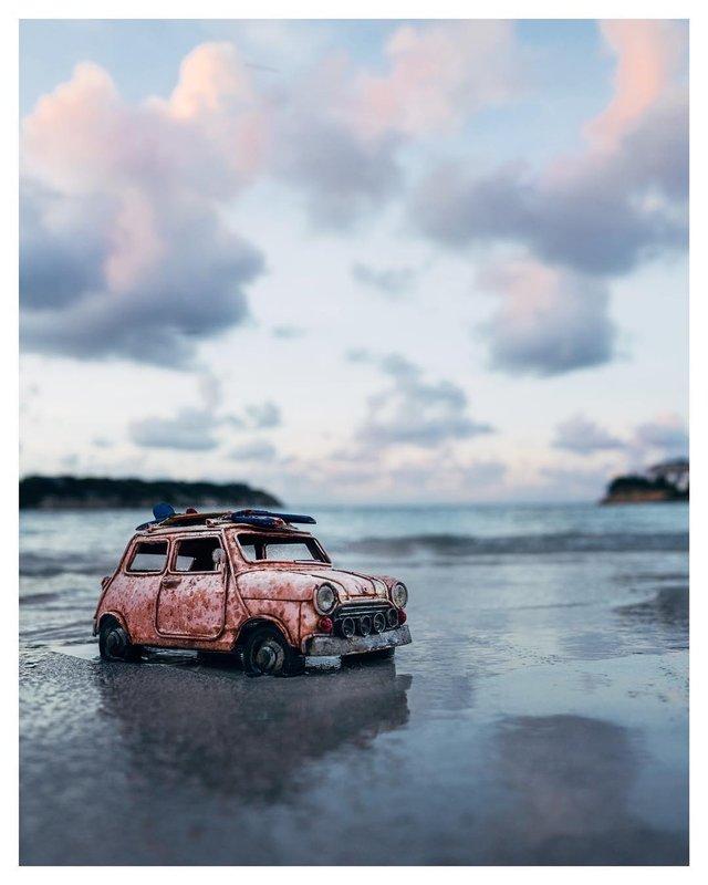 Мініатюрні авто у захопливих фото Кім Леенбергер - фото 297583