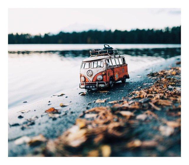 Мініатюрні авто у захопливих фото Кім Леенбергер - фото 297584