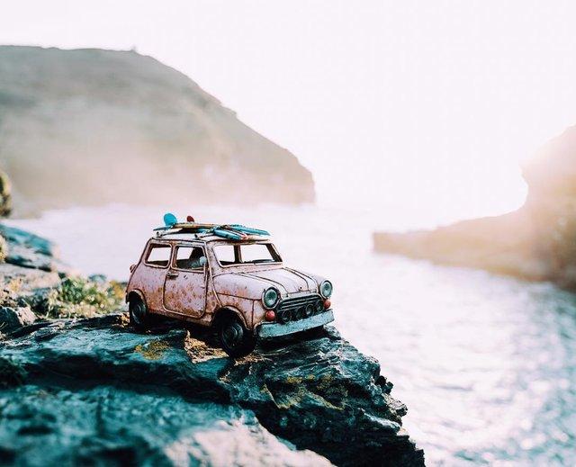 Мініатюрні авто у захопливих фото Кім Леенбергер - фото 297588