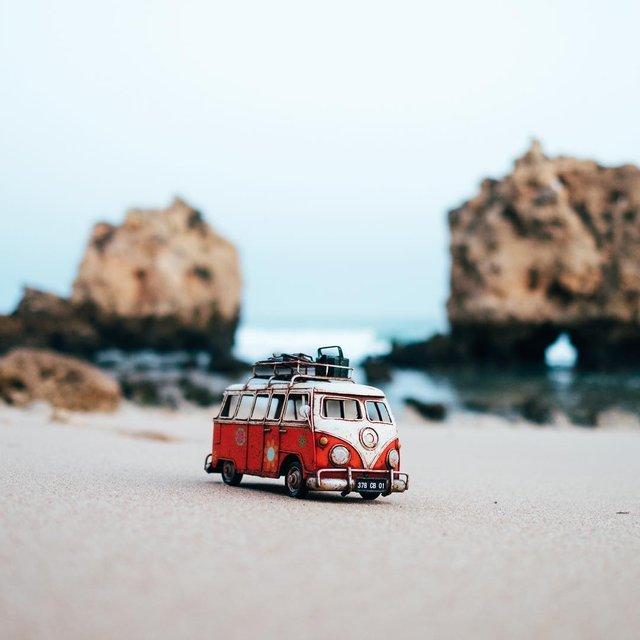Мініатюрні авто у захопливих фото Кім Леенбергер - фото 297591