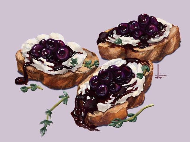 Смачні ілюстрації їжі, які змусять вас зголодніти - фото 297706