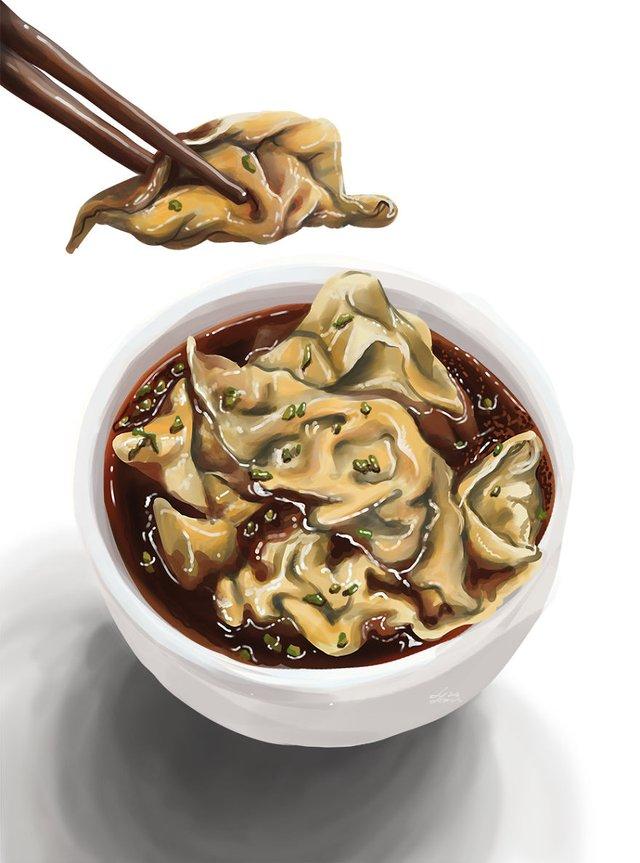 Смачні ілюстрації їжі, які змусять вас зголодніти - фото 297708