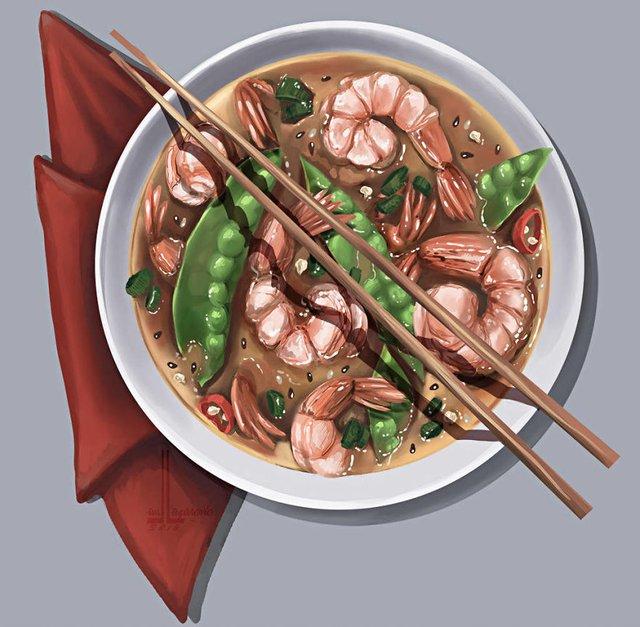 Смачні ілюстрації їжі, які змусять вас зголодніти - фото 297709