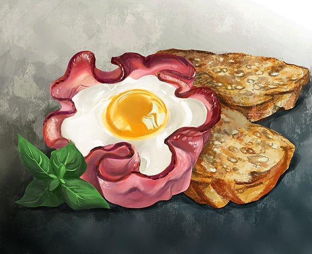 Смачні ілюстрації їжі, які змусять вас зголодніти - фото 297711