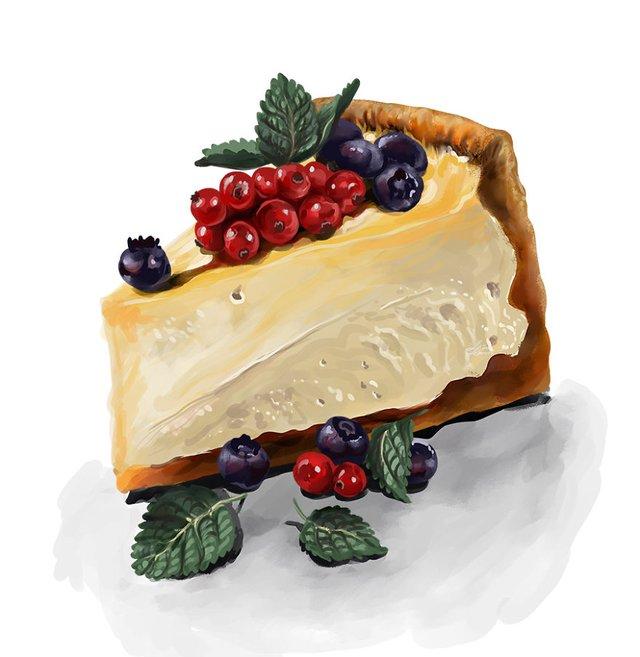 Смачні ілюстрації їжі, які змусять вас зголодніти - фото 297714